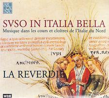 SUSO IN ITALIA BELLA. MUSIQUE DANS LES COURS ET CLOITRES - CD  - LA REVERDIE