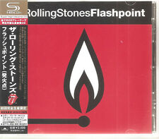 "ROLLING STONES ""Flashpoint"" Japan SHM-CD + Obi Rare"
