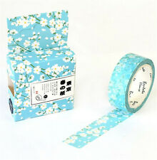 HOT Design 15mm×7M paper Sticky Adhesive Sticker Decorative Washi Tape DYI H-09