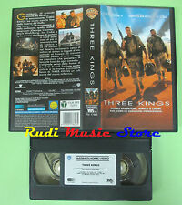 film VHS THREE KINGS 2000 George Clooney Ice Club WARNER GLI SCUDI (F22*) no dvd