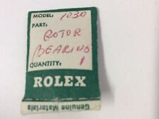 ROLEX 1030 PARTS ROTOR BEARING SET UNUSED OLD STOCK