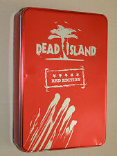 DEAD ISLAND RED EDITION Metal Case Steelbook Xbox 360 rare NO GAME EMPTY BOX