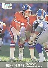 1991 Fleer John Elway #35 Football Card