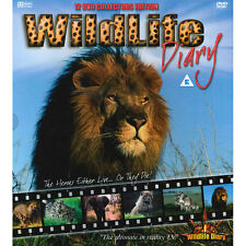 Wildlife Diary - 12 DVD Collectors Edition on DVD Brand New & Sealed Gift