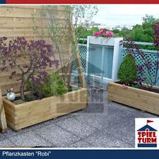 Pflanzkasten 150x50x32,5cm aus Holz Pflanztrog Blumenkasten Hochbeet Sonder NEU