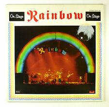 """2 x 12"""" LP - Rainbow - On Stage - B3524 - washed & cleaned"""