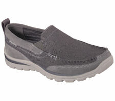 NEW Skechers 64365 CCGY Men's SUPERIOR MILFORD Casual Shoes Charcoal Gray Sz 12