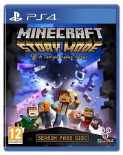 Minecraft: Story Mode - A Telltale Game Series - Season Disc (PS4) NEW FREE P&P