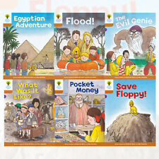 Oxford Reading Tree, Level 8: More Stories, 6 Books Collection set (Save Floppy)