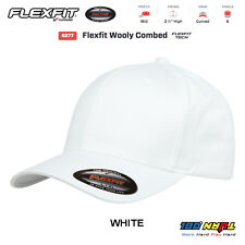 6277 Flexfit Wooly Combed Twill Fitted Baseball Cap Hat Blank Flex Fit Yupoong