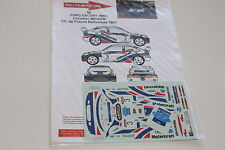 DECALS 1/43 FORD ESCORT WRC COSWORTH MENIER RALLYCROSS 1997 RALLYE RALLY WRC
