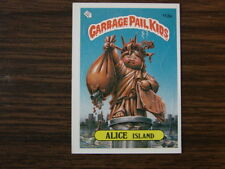 1986 Topps # 113A Alice Island Garbage Pail Kids Card