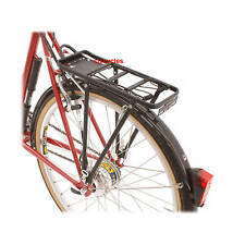 REAR BICYCLE PANNIER RACK WITH SPRUNG CLAMP ALLOY 16587