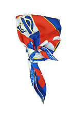 "*LOUIS VUITTON* AMERICA'S CUP 2000 SILK SCARF 21"" BY 22"""