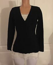 NWOT VENUS LACE TOP INSET SWEATER ORIG $36 NOW $25 SIZE M