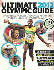 MagBook ULTIMATE 2012 OLYMPIC GUIDE Usain Bolt Timeline Games History Events A-Z