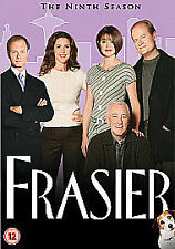 Frasier - Series 9 - Complete (DVD, 4-Disc Box Set) . FREE UK P+P ..............