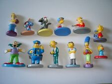 THE SIMPSONS 3D FIGURINES SET PANINI - FIGURES COLLECTIBLES MINIATURES