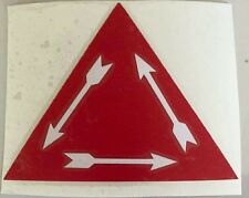 "Boy Scout OA Order of the Arrow Vigil Decal Sticker 3"" x 4"""