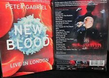 Peter Gabriel: New Blood - Live in London NEW! DVD, FREE SHIP! Concert,Orchestra