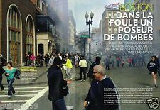 Coupure de Presse Clipping 2013 (8 pages) Attentat Marathon de Boston