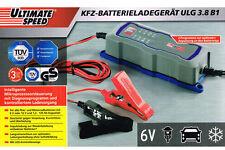 TOP Ladegerät Batterieladegerät Werkstatt  6V & 12V Auto  Mottorad KFZ Batterie