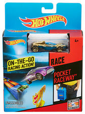 Hot WHEELS poche raceway HW race play set voiture inclus