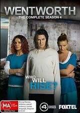 Wentworth : Season 4 (DVD, 4-Disc Set) NEW