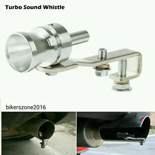1x Car Turbo Sound Whistle Pipe Silencer Exhaust For Maruti Suzuki Swift Dzire