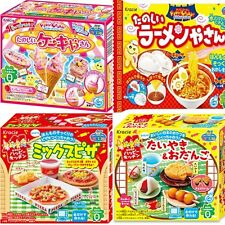 New Kracie Popin Cookin Happy Kitchen Making 4Item Japanese DIY Candy Kits