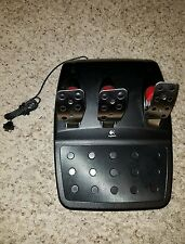 Logitech G27 Racing Pedals for free shipping PC/PS3 used clean