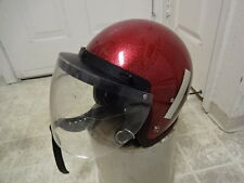 VINTAGE 70'S EXCEEDS SPARKLE FLAKE HELMET GREAT COND NOT MUCH USED MADE IN USA