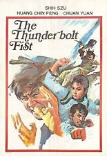THE THUNDERBOLT FIST/PI LI QUAN original 1972 movie poster SZU SHIH//YUAN CHUAN