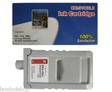 PFI-701 Red Ink Cartridge Compatible for Canon Printer iPF 8000 9000 8100 9100