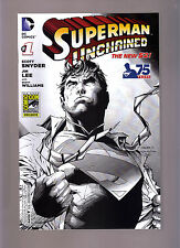 DC COMICS THE NEW 52! SUPERMAN UNCHAINED #1 SDCC EXCLUSIVE VARIANT 75 YEARS
