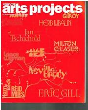 COMPUTER ARTS PROJECTS MAGAZINE - August 2007 '100 GRAPHIC DESIGN ICONS'