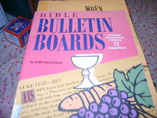 Bible Bulletin Boards by Judith H. Chase (1994, Paperback Sunday School book