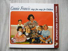CONNIE FRANCIS SINGS FUN SONGS FOR CHILDREN ! TR CD 1222 VERY RARE