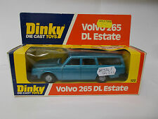 dinky 122 volvo 265 dl estate boxed vintage 1977