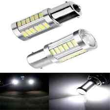 2PCS 33SMD BA15S P21W 1156 LED Car Backup Reverse Light White Bulb 5630 5730 12V