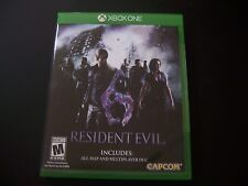 Replacement Case (NO  GAME) RESIDENT EVIL 6 SIX XBOX ONE 1 XB1 100% ORIGINAL