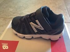 Infants New Balance Black and Grey Sneakers  Infant Boys Size 5 1/2 Wide