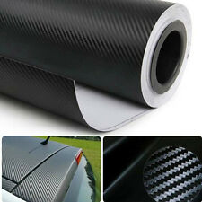 3D CARBON FIBRE/FIBER VINYL SHEET WRAP STICKER FOR CAR DECOR Red&Black