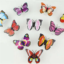 Creative Color Changing ABS Butterfly LED Night Lights Lamp Home Room Beautiful
