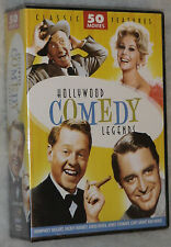 Hollywood Comedy Legends 50 Movie Pack - Bogart, James Stewart, Cary Grant, etc