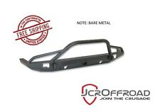 JCR Offroad Defender PreRunner Front Bumper w/ Hitch - Bare - 84-01 Jeep XJ