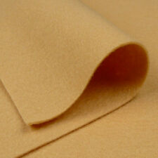 """9""""x18"""" Champagne Beige Wool Felt Fabric / card toy doll quilting pale brown"""