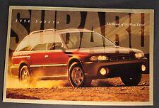 1996 Subaru Catalog Brochure Legacy Outback Impreza SVX Excellent Original 96