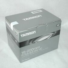 "#1247""""Unopened Brand-NEW"""" TAMRON 18-200mm f/3.5-6.3 Di II VC for EF from JAPAN"