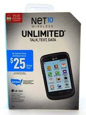 NET10 Wireless Pre-Paid LG 306G Cell Phone Unlimited Talk Text Data